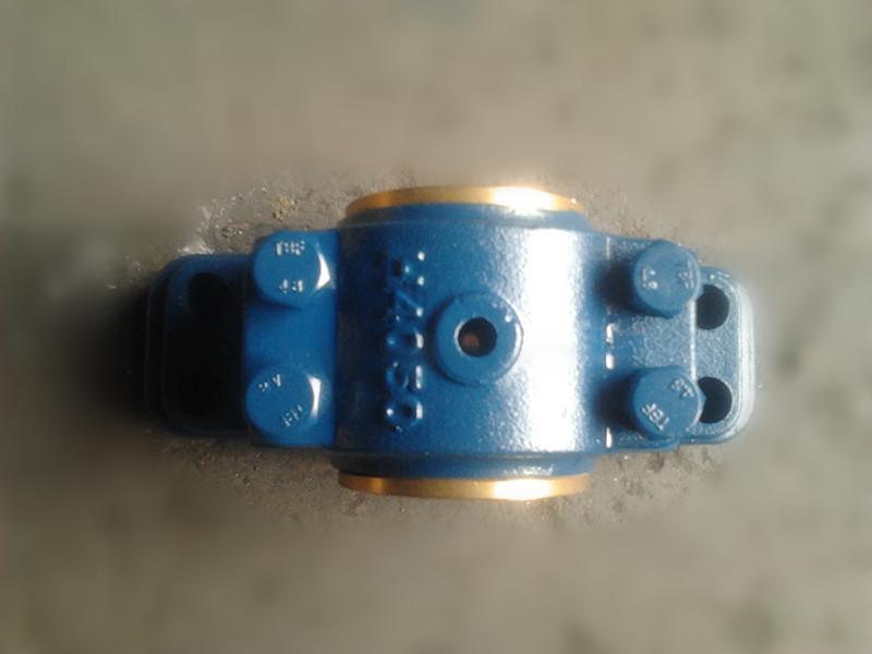 H4000对开式四螺栓滑动轴承座